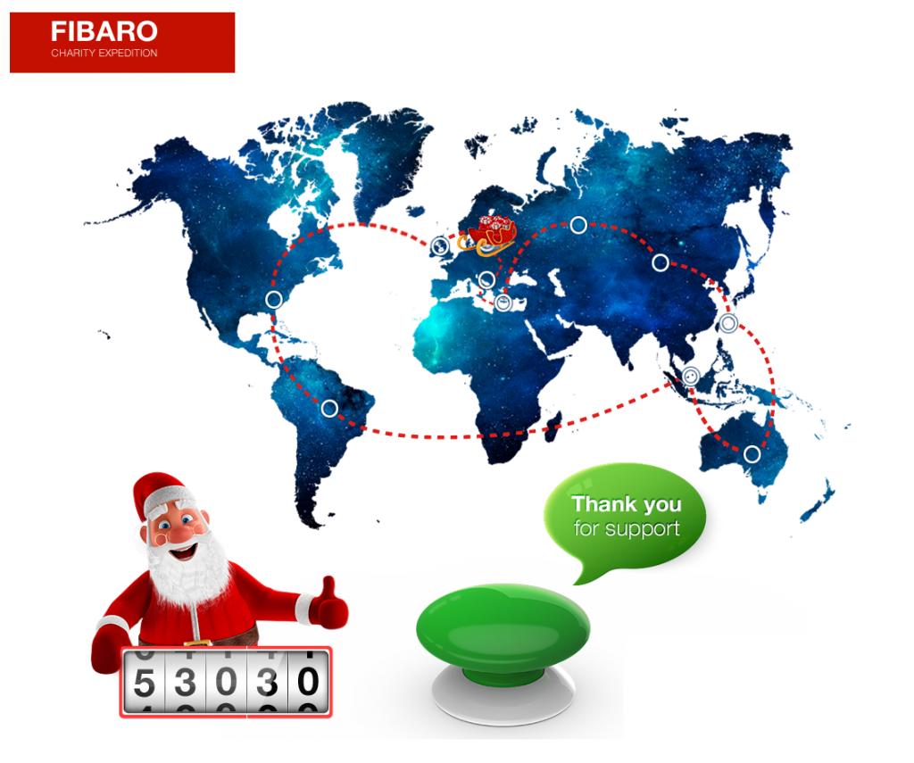 Pomóżmy najmłodszym razem z FIBARO - Christmas Charity Expedition